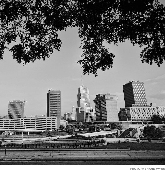 Akron skyline photo by Shane Wynn